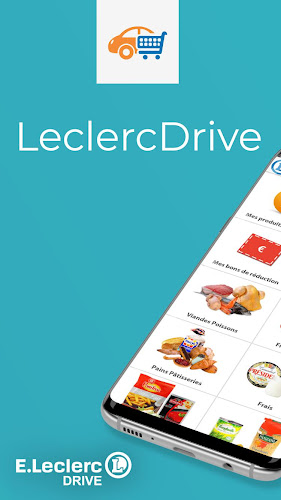 LeclercDrive Android App Screenshot