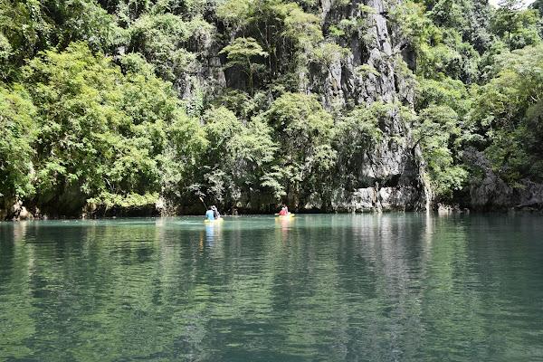 Enter the inner lagoon of Koh Panak