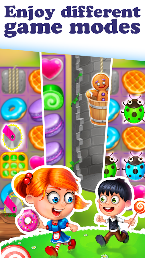 Gingy Story: match 3- screenshot