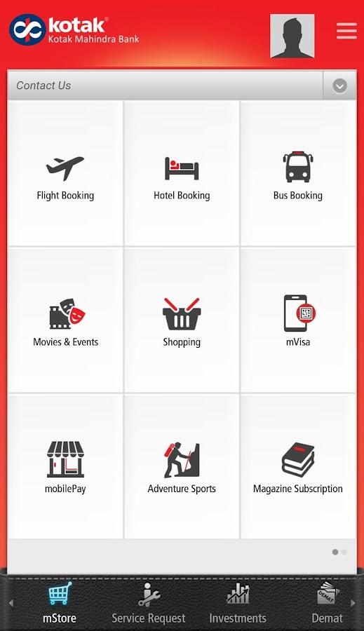 Screenshots of Kotak Bank for iPhone