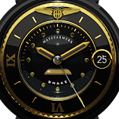 Golden Snake Watch Face