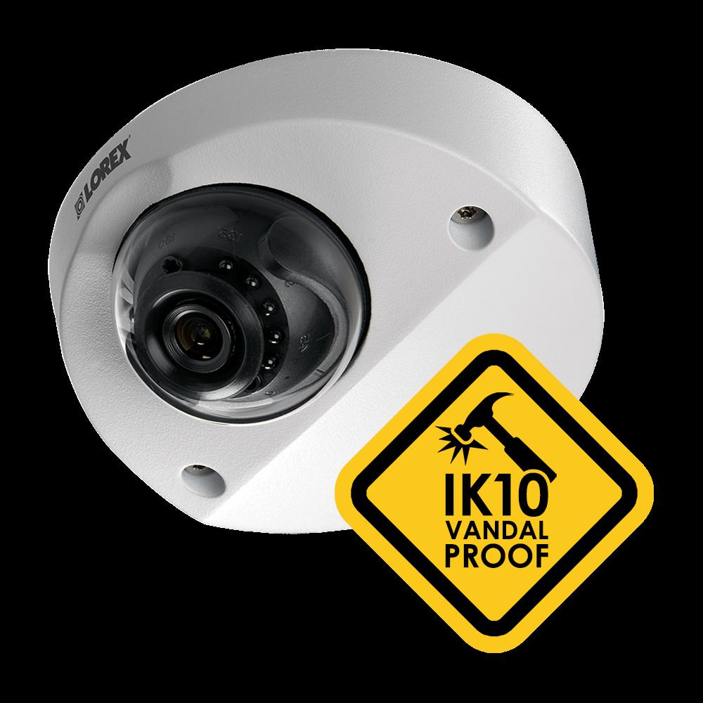 vandal-proof HD security camera