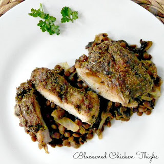 Cajun Spiced Chicken Thighs Recipes.