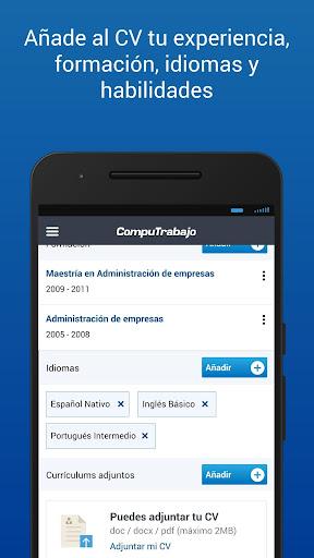 CompuTrabajo Ofertas de Empleo  screenshots 8