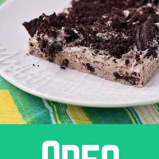 Oreo Cookie Bars (Oreo Flatbread)