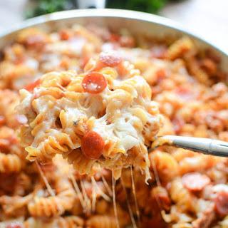 One-Pot Pizza Pasta.
