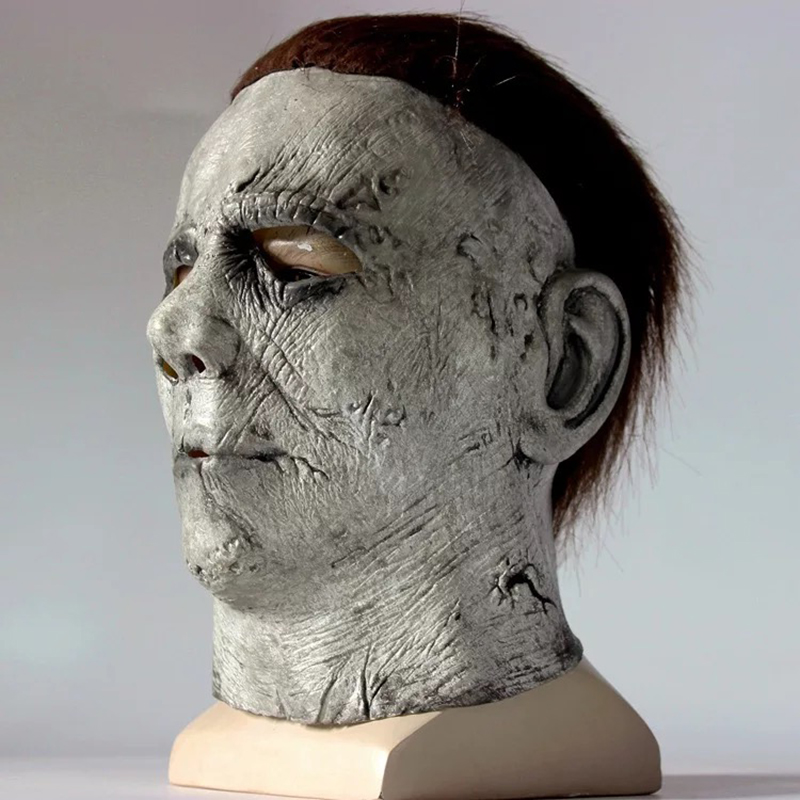 Halloween Film Vintage Michael Myers Horror Latex Mask ...