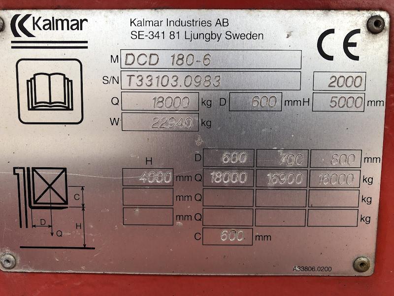 Picture of a KALMAR DCD180-6