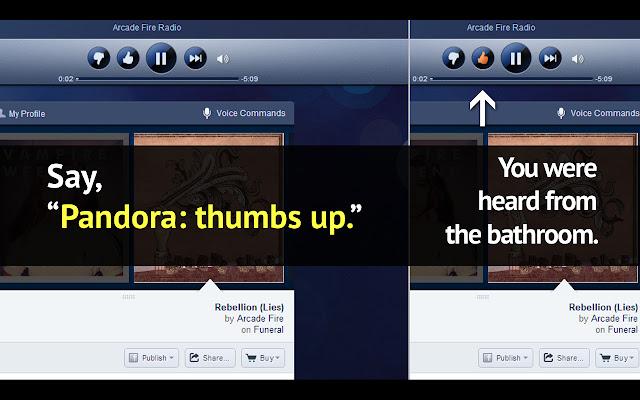 Pandora™ Voice Recognition
