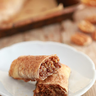 Pecan Pie Dessert Egg Roll