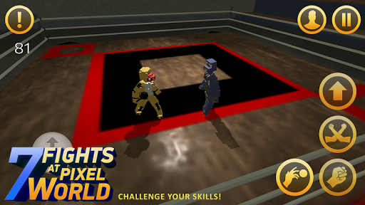 Seven Fights at Pixel World game (apk) free download for Android/PC/Windows screenshot