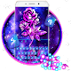 Luxury Galaxy Rose Keyboard Theme for PC-Windows 7,8,10 and Mac