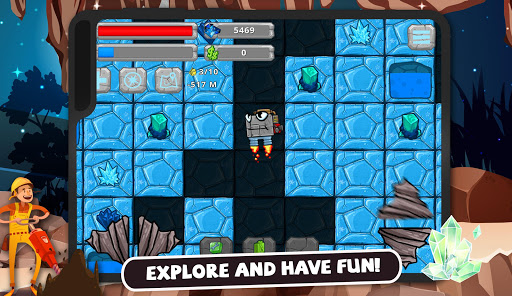 Digger Machine: dig and find minerals 2.7.0 screenshots 10