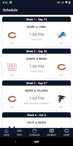 Chicago Bears Official App screenshot 3