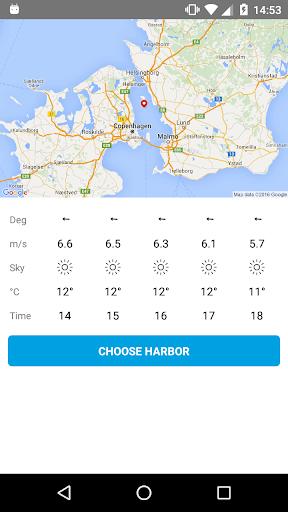 Sailing wind forecast - Vaavud