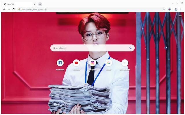 BTS Jimin Wallpapers New Tab