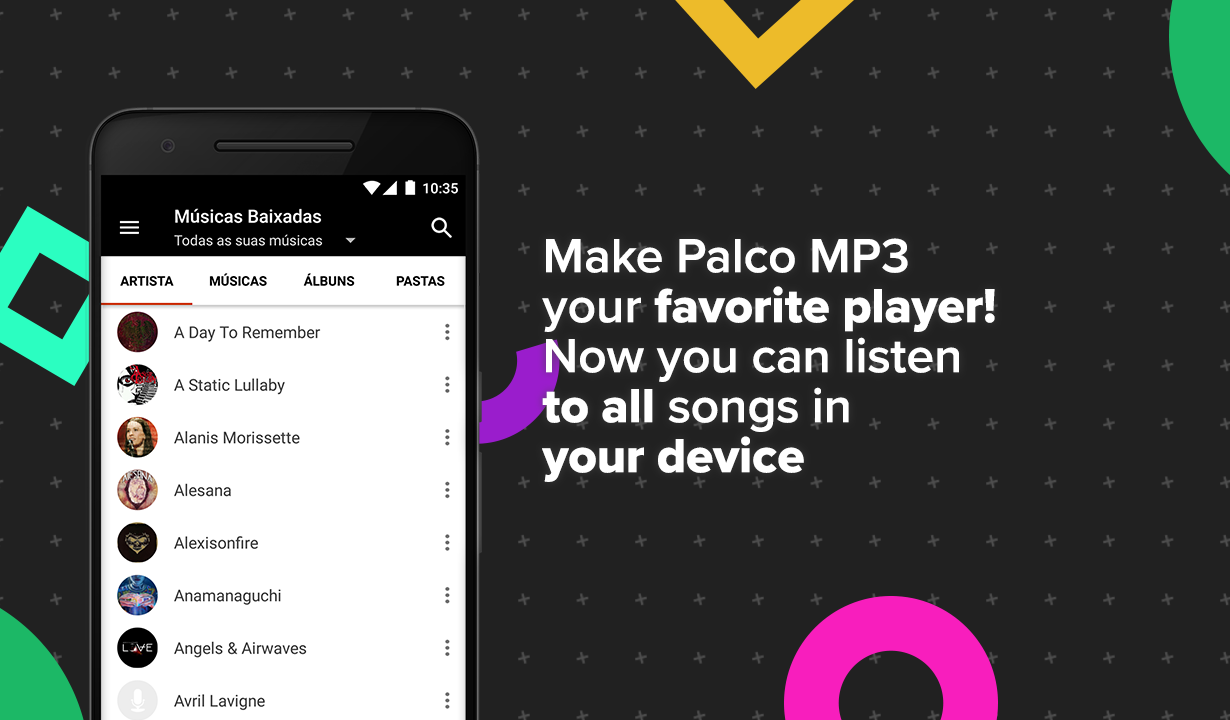 Screenshots of Palco MP3 for iPhone