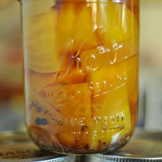 Pickled Golden Beets.