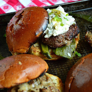 Jalapeno Cream Cheese Burger Recipe