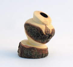 "Photo: Gary Guenther - ""Emerging"" Pot - 1 1/4"" x 2"" - Dogwood"