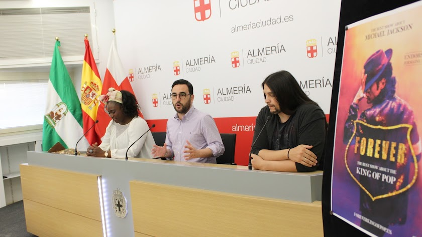 El tributo \'Forever. King of Pop\' llega a Almería los días 3 y 4 de noviembre.