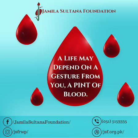 Donate blood For Good Cause and Serve Humanity.