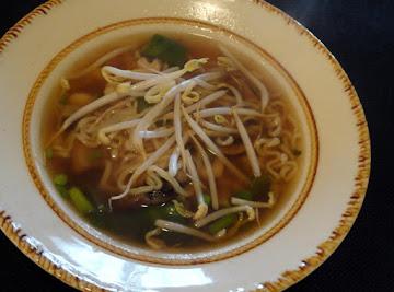 Shrimp Chinese Style Noodle Soup Recipe