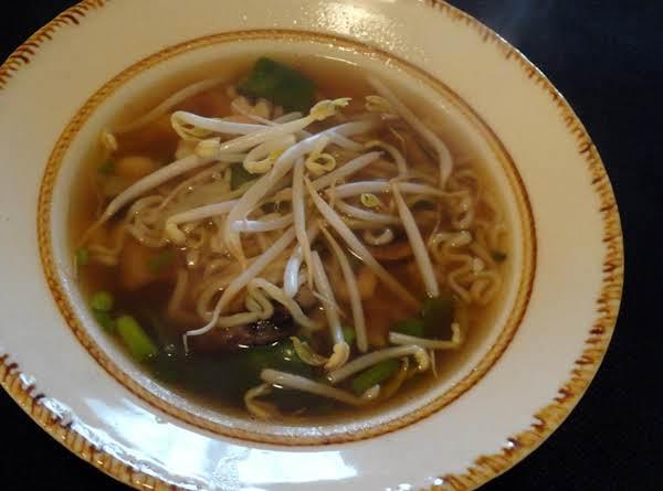 Shrimp Chinese Style Noodle Soup