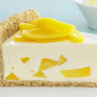 Mango and Lemon Cheesecake