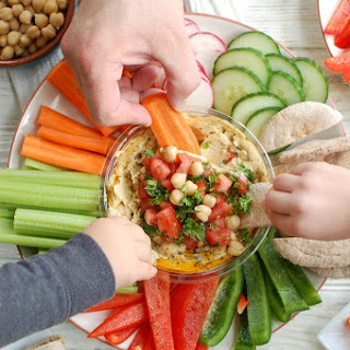 Lebanese Style Hummus.