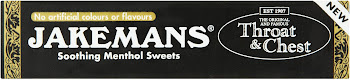 Jakemans Throat and Chest Soothing Menthol Sweets - 41g