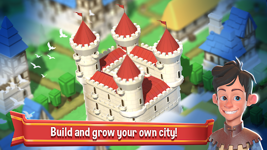 Crafty Town – Merge City Kingdom Builder Mod Apk Download For Android and Iphone 7