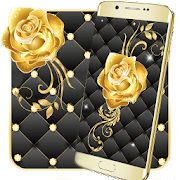 App Gold Rose Live Wallpaper APK for Windows Phone