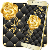Tải Gold Rose Live Wallpaper APK