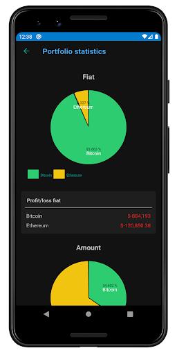 Crypto Tracker - Cryptocurrencies news & portfolio screenshot 4