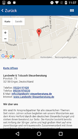android Landwehr Steuerberater Screenshot 4