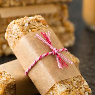 Microwave Peanut Butter Granola Bars