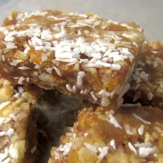 Apricot and Pineapple Squares.