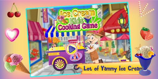 Ice Cream - Kids Cooking Game 1.0 screenshots 1