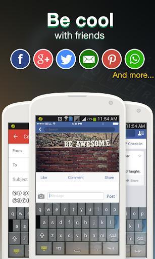 Cool Fonts for Whatsapp & SMS 2.7 screenshots 5