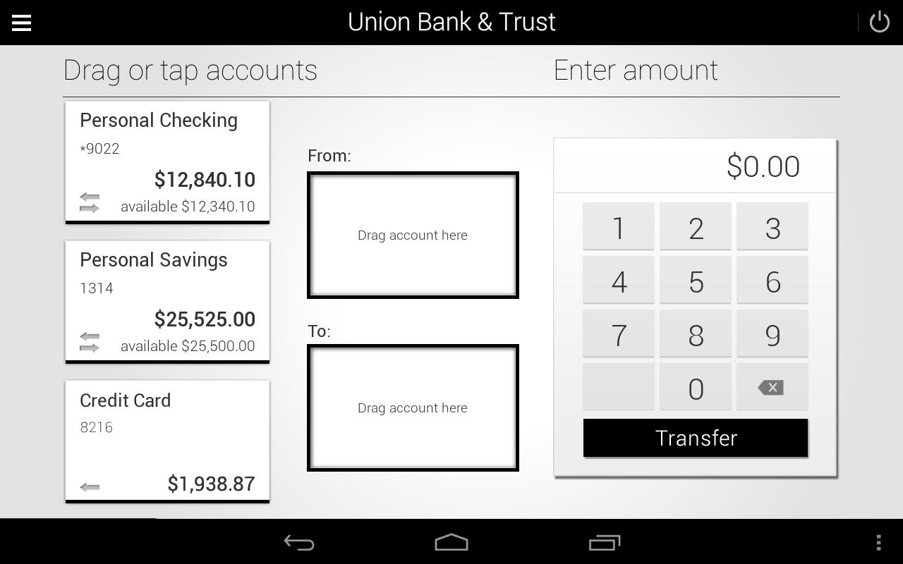 Union Bank & Trust- screenshot