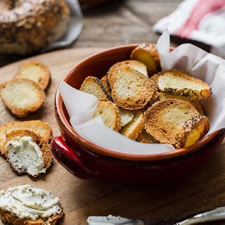 Garlic Parmesan Bagel Chips