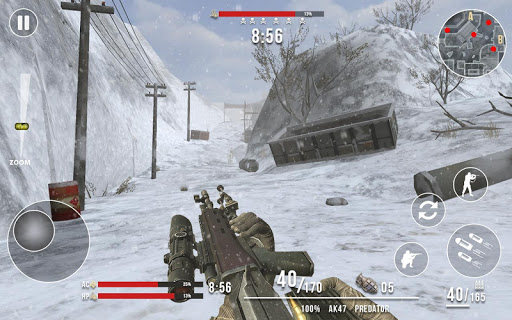 Rules of Modern World War Winter FPS Shooting Game 1.2.0 Screenshots 5
