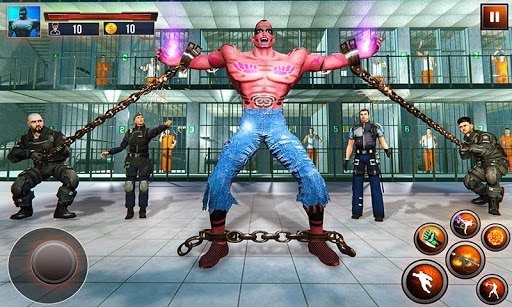 Incredible Monster: Superhero Prison Escape Games filehippodl screenshot 2