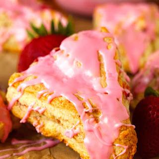 Strawberry Dream Scones