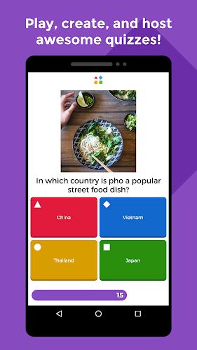 Kahoot! Android App Screenshot