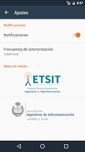 ETSIT Noticias- screenshot thumbnail