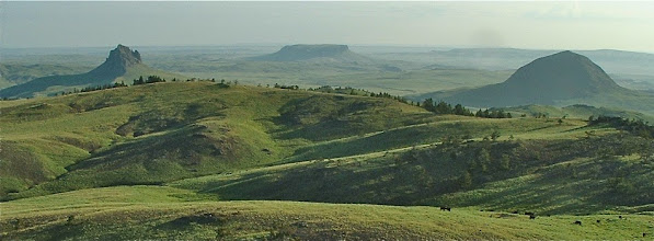 Photo: Here is a photo of Crown Butte taken a few years ago by a local rancher.