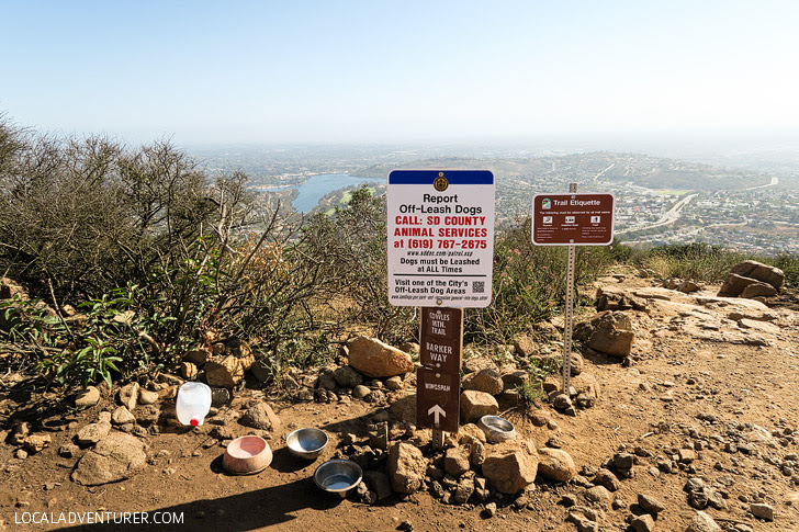 Cowles Mountain Hikes in San Diego.