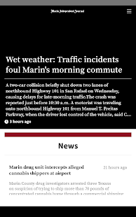 Marin Independent Journal- screenshot thumbnail